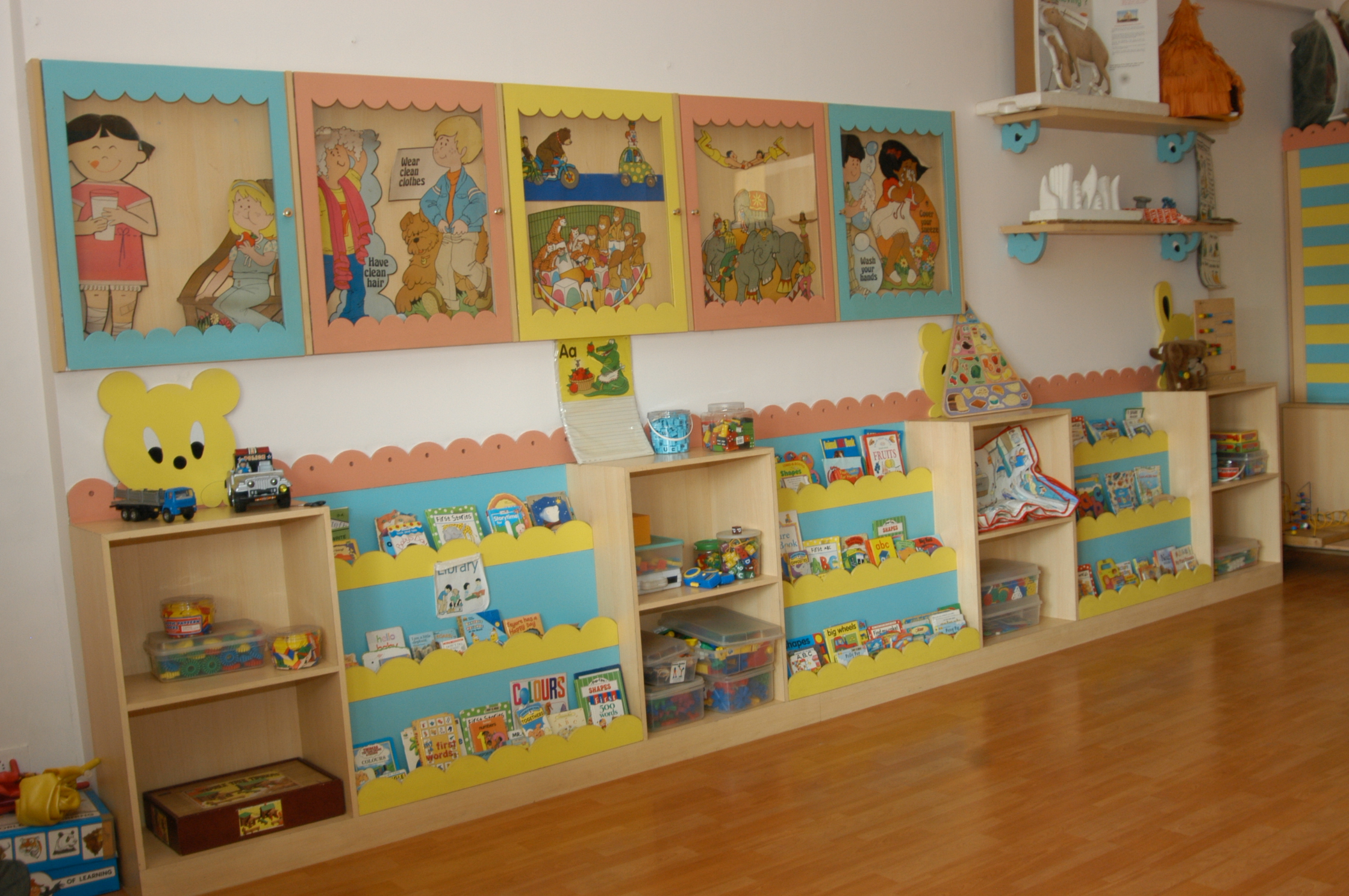Dhirubhai ambani international school facilites class for Activity room