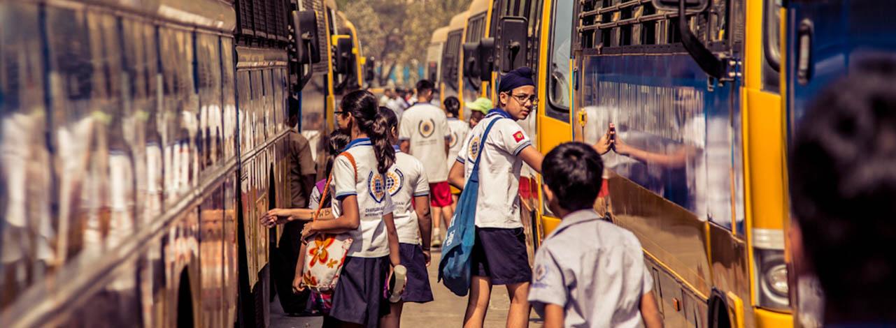 Dhirubhai Ambani International School Transport | Best School in Mumbai