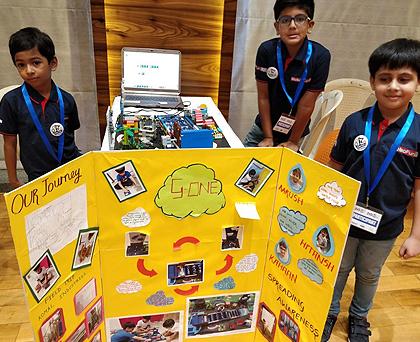 Student Achievement : Young Entrepreneur Shiv Kampani