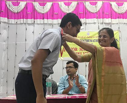 A Junior Math Genius   Dhirubhai Ambani International School
